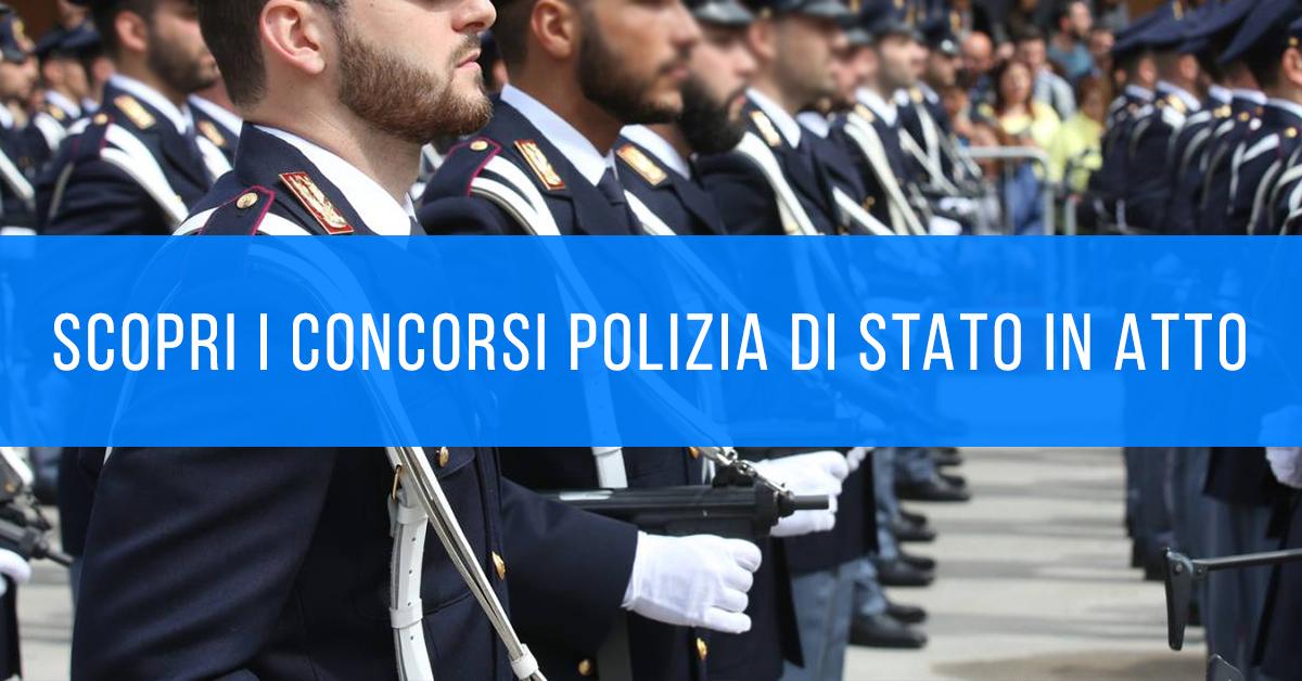 Polizia di Stato Concorsi in Atto